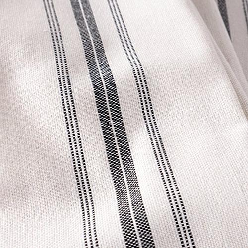 KAF Home Stripe Set of x 100% Pure Cotton Dish Towels Perfect Cloths for Cleaning,