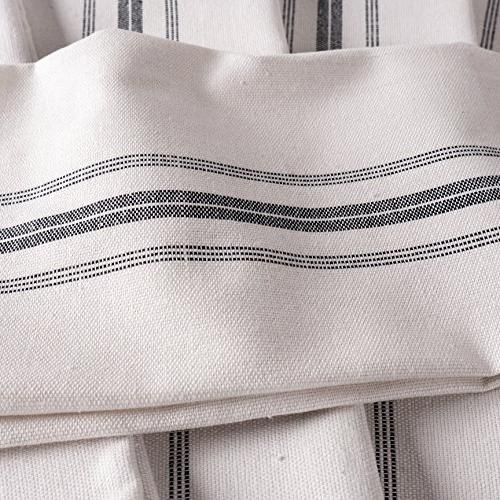 KAF Home Stripe Towels Set of x Cotton Dish Towels Perfect Cloths and Dining