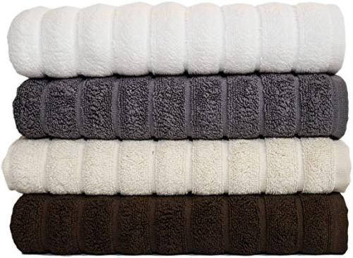 Piece Luxury Hand Set - 20 32 Thick Hand Towels with Turkish Cotton