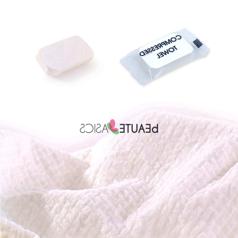 compressed washcloths disposable reusable facial cloth towel
