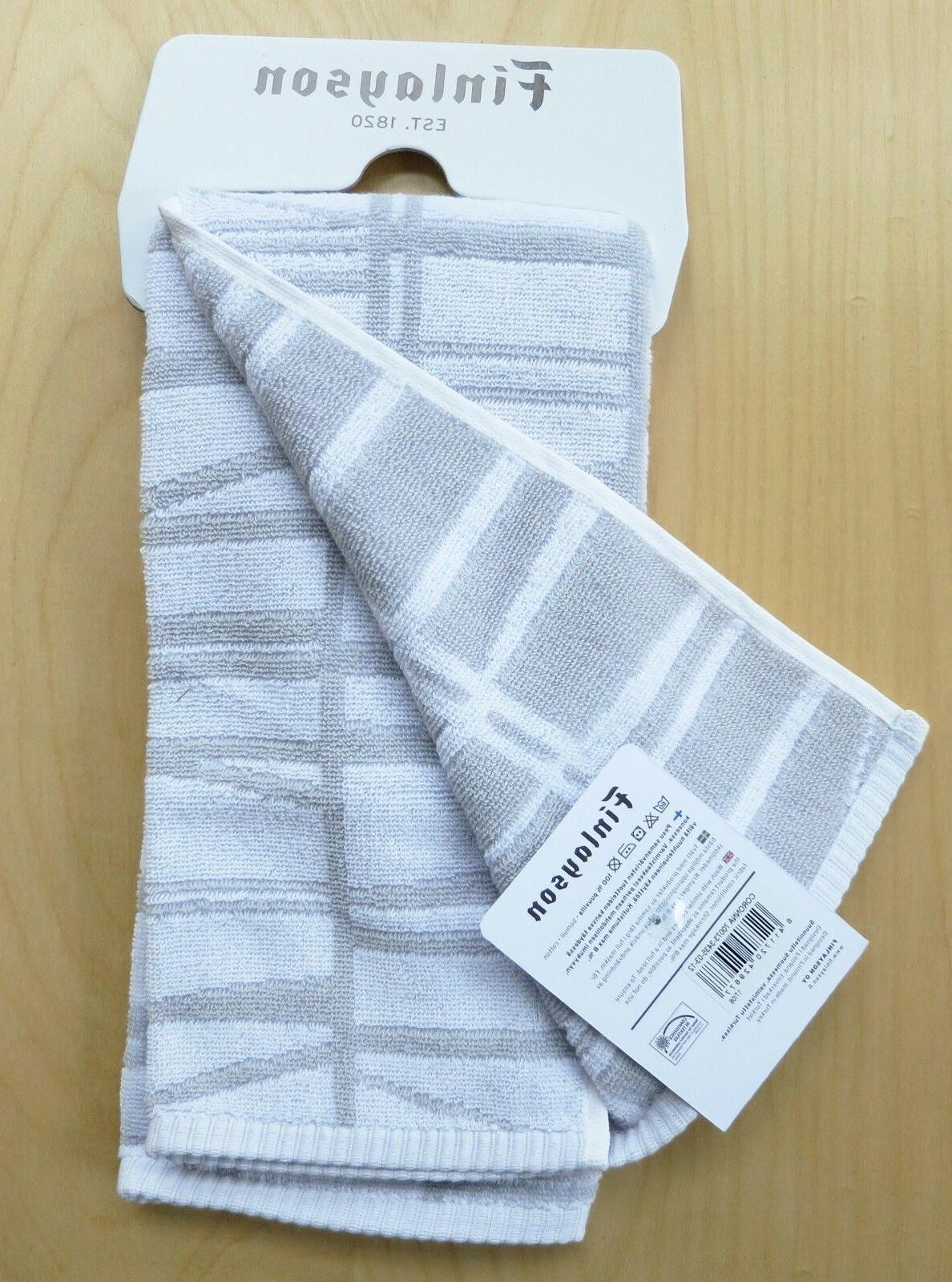 FINLAYSON Coronna Hand Towels from Finland ~ ~ NWT