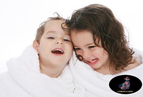 6 Premium Bath Towels Set 2 Bath Towels, Hand Towels, Hotel Spa Quality Luxury Towel Gift Towel - Stone