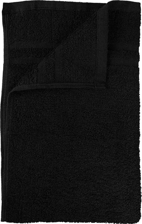 Bleach Proof Salon in Black Cotton 16 inches