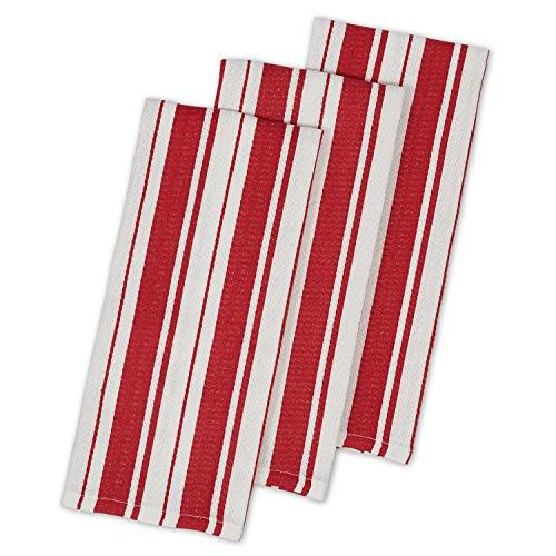 cotton gourmet stripe dish towels