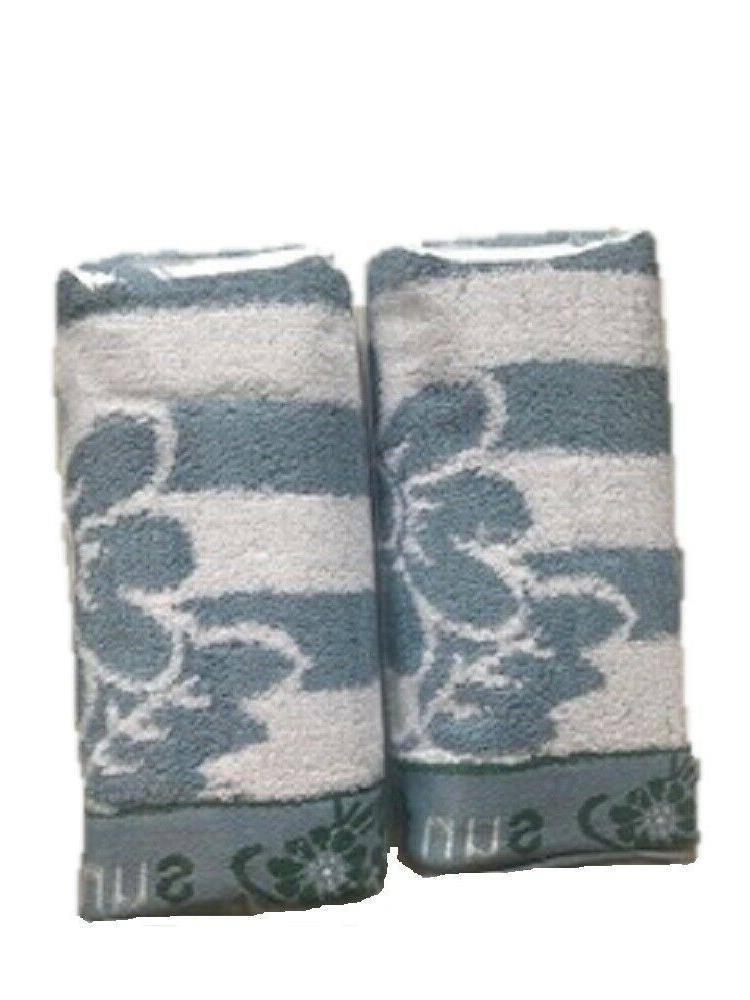 Cotton Hand Towels Sunflower 2 pc. Pack x in