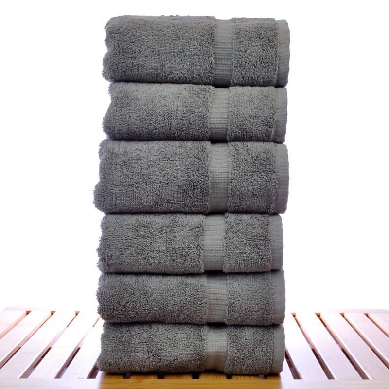 Chakir Turkish Luxury Bath Towel, Hand Towel Pcs