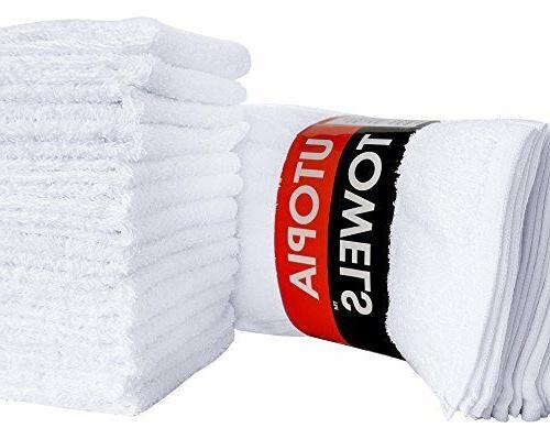 Pack of 24 Washcloths Finger Face Utopia Towels