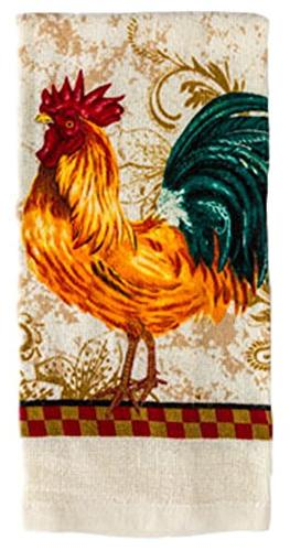Country Rooster Linen Set
