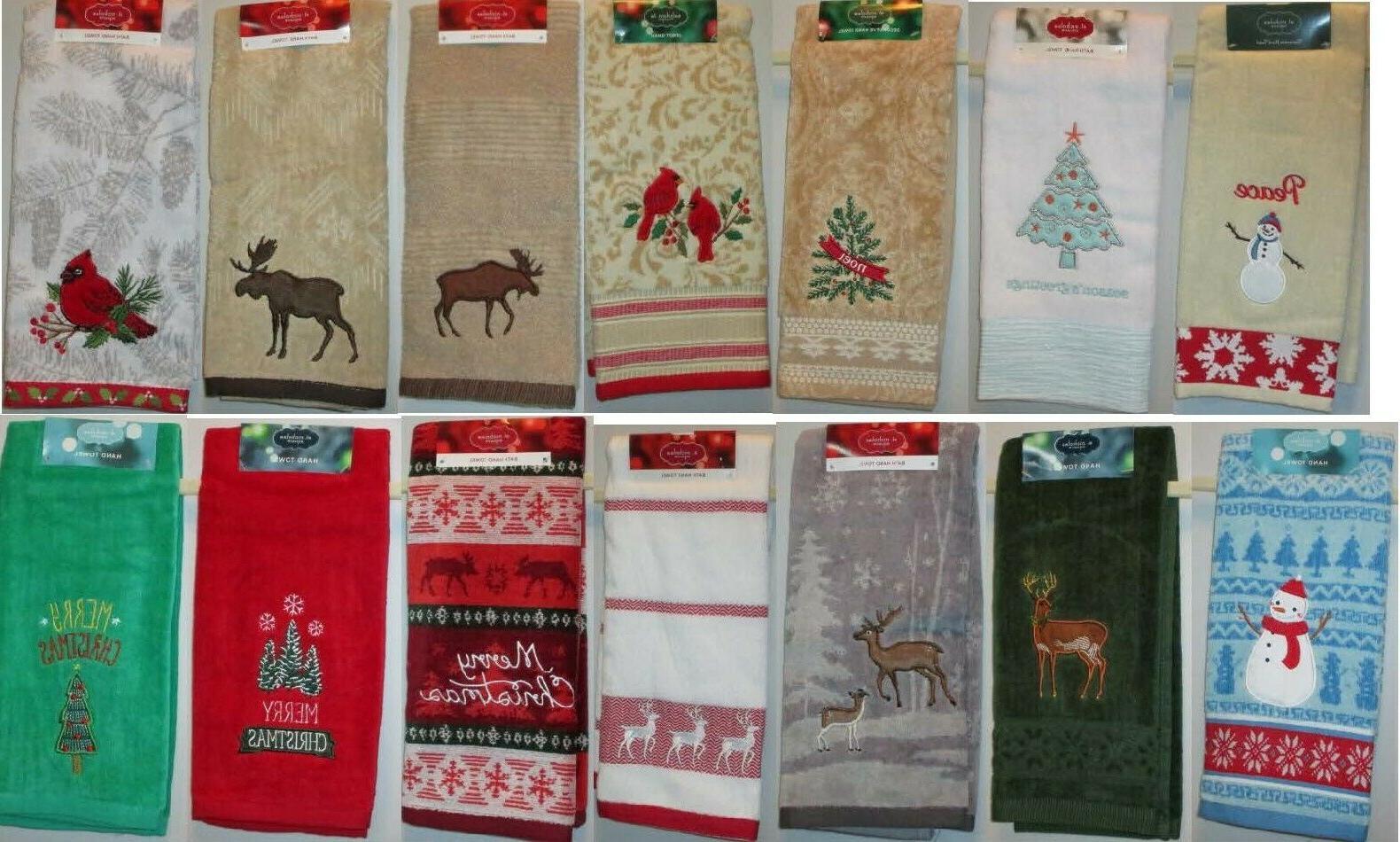 Decorative Towels Holidays Beach Summer Fall Winter NWT