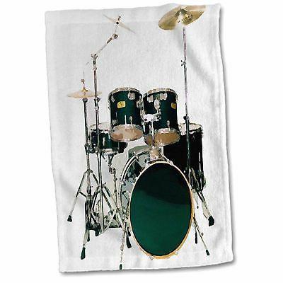 drums hand towel