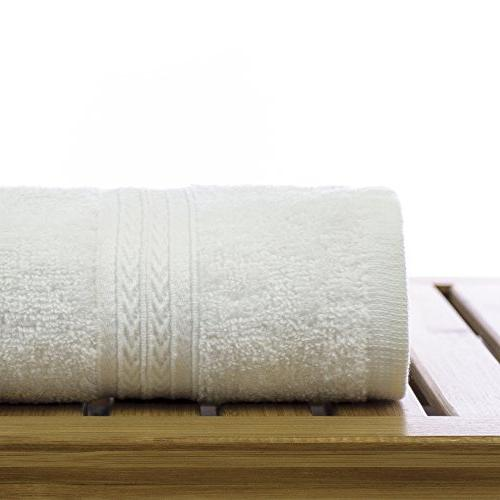 Eco Cotton Towels - White Border 6