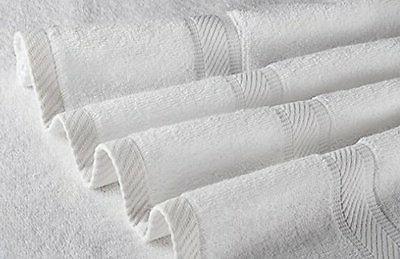 100% Cotton Luxury Hotel Spa - - White