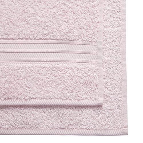 Set Microfiber Premium Soft Towel, Pale Pink