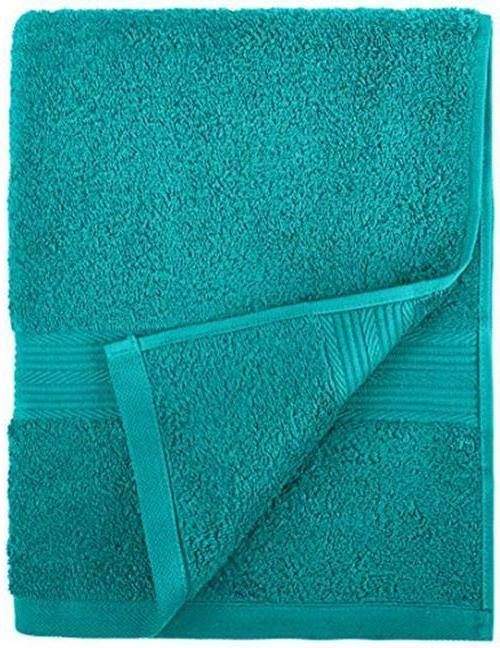 AmazonBasics 6-Piece Cotton Towel Assorted , Colors