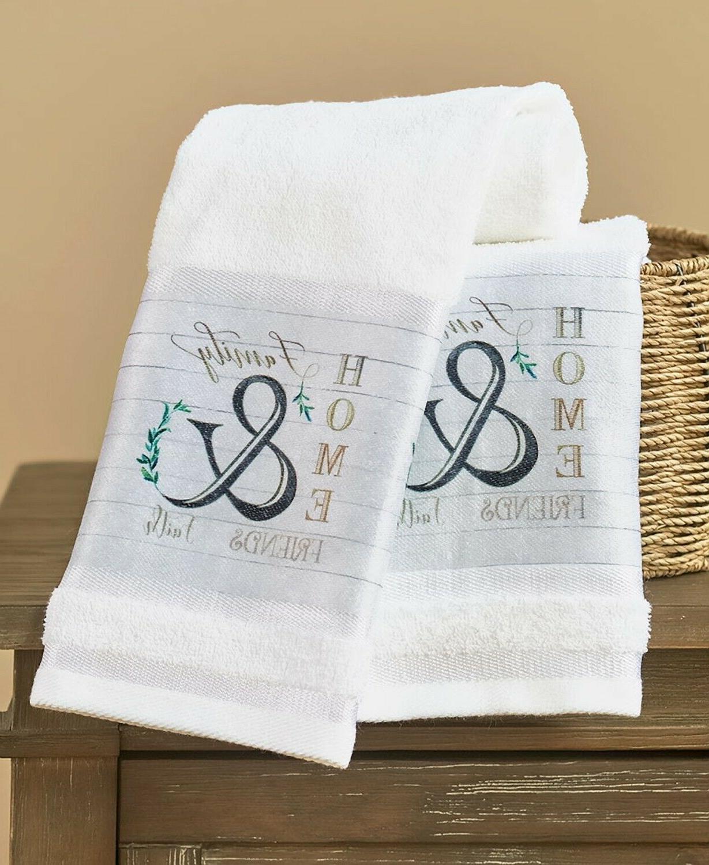 farmhouse bath hand towels country friends faith