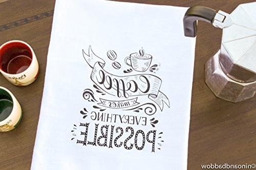 flour sack kitchen tea towel