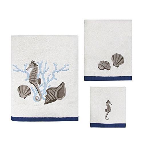 folly beach cotton three towel