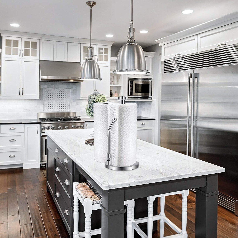 <font><b>Paper</b></font> <font><b>Towel</b></font> Steel One-<font><b>Handed</b></font> Tear Design Kitchen Kitchens
