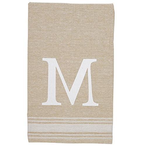grainsack chambray initial towel amazon
