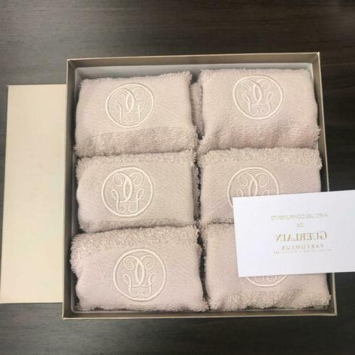 hand towel cotton set of 6 in