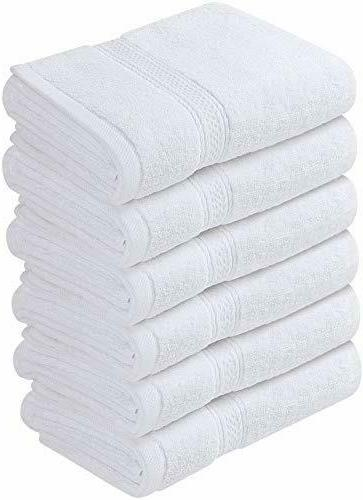 Pack Cotton Hand Towels 16 x 28 Inches GSM Utopia