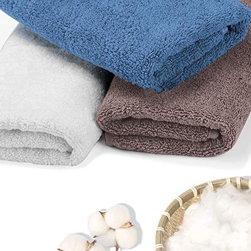 LiveComfort Set, Small Hand Towels the Face, Cotton Machine
