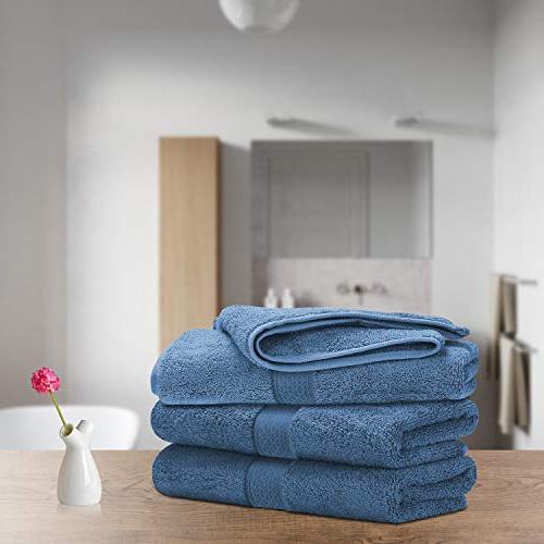 LiveComfort Set, Hand Towels Face, 100% Machine Washable