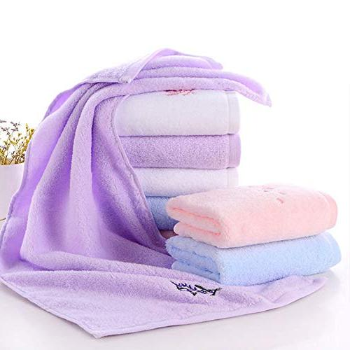 Pidada Hand 100% Highly Absorbent, Super Soft, Pattern Hand Towel Set x Inch