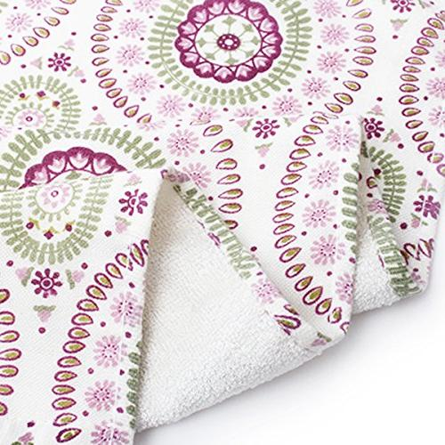 Pidada Set of Ethnic Pattern Highly Absorbent Soft Hand Towel Inch