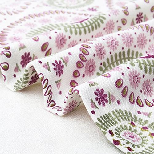Pidada Hand Set of 2 Ethnic Paisley Pattern 100% Bamboo Fiber Highly Absorbent Towel 31 Inch