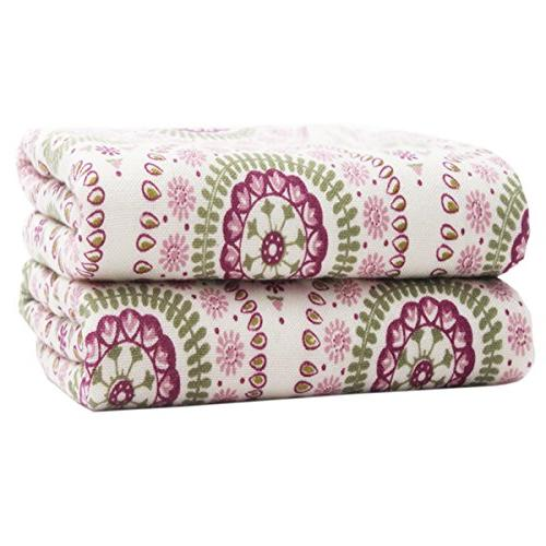 hand towels ethnic paisley pattern