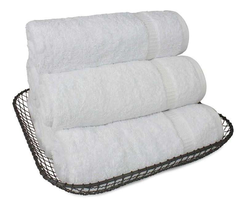 SALBAKOS Towels Bathroom, Bulk Pack, Percent Genuin