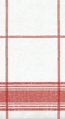 Hand Towels or Guest Towels 12 Count Belgian Red Plaid