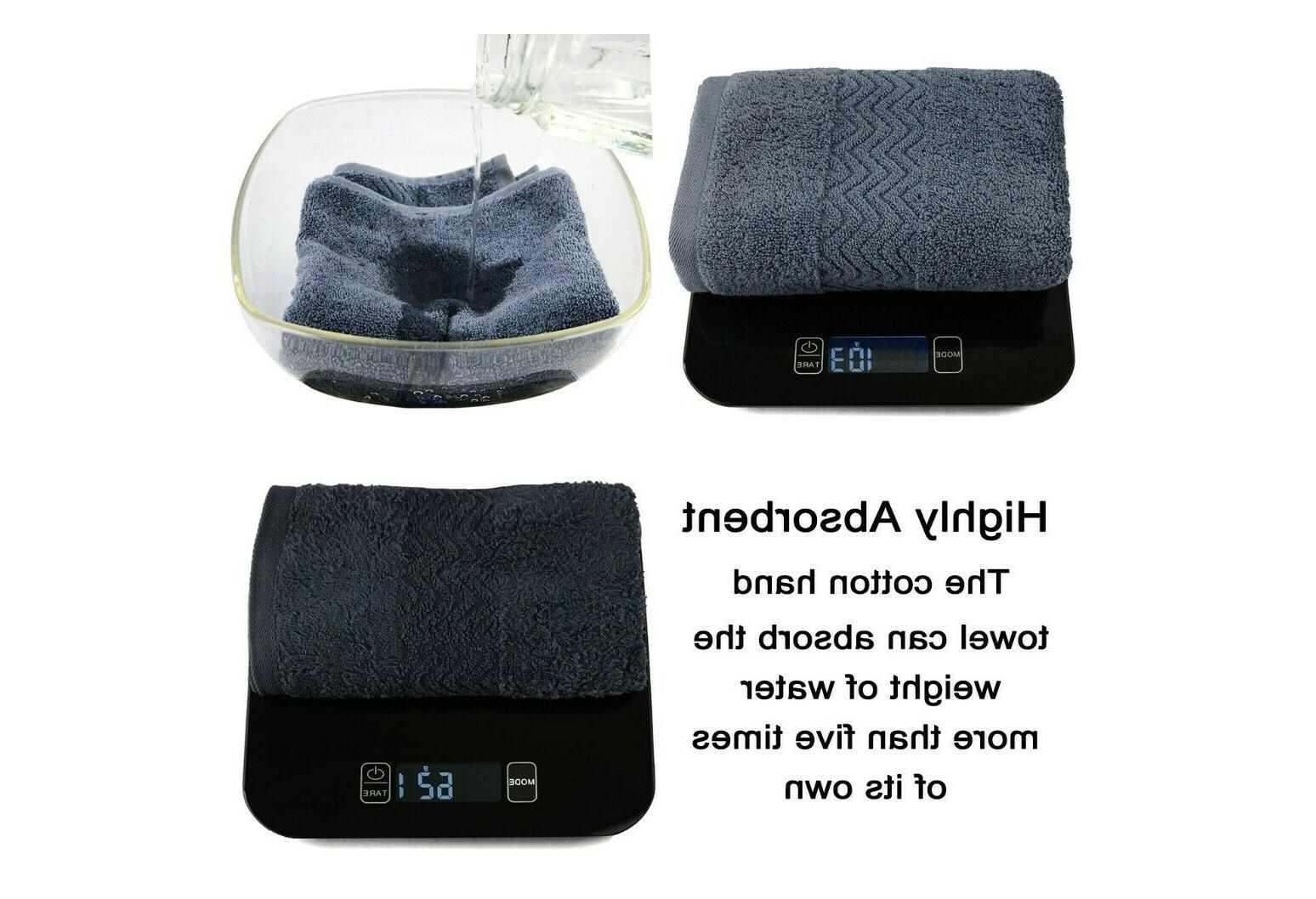 Cleanbear Towels, Absorbent,Set 100% ,