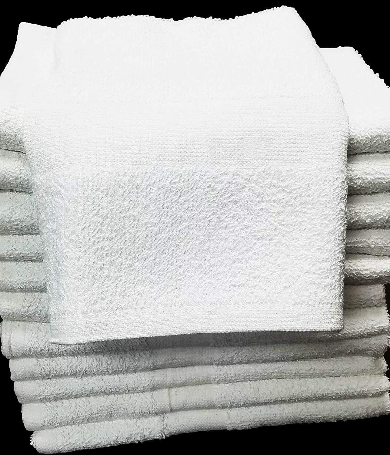 Hand Towels White 100% Cotton-Pack Hotel, Gym Ship