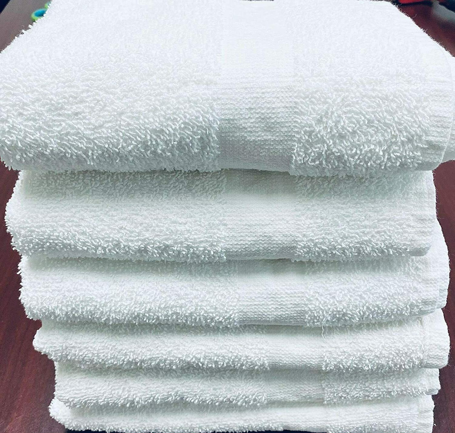 Hand Towels Cotton-Pack of 12 Hotel, Gym Ship