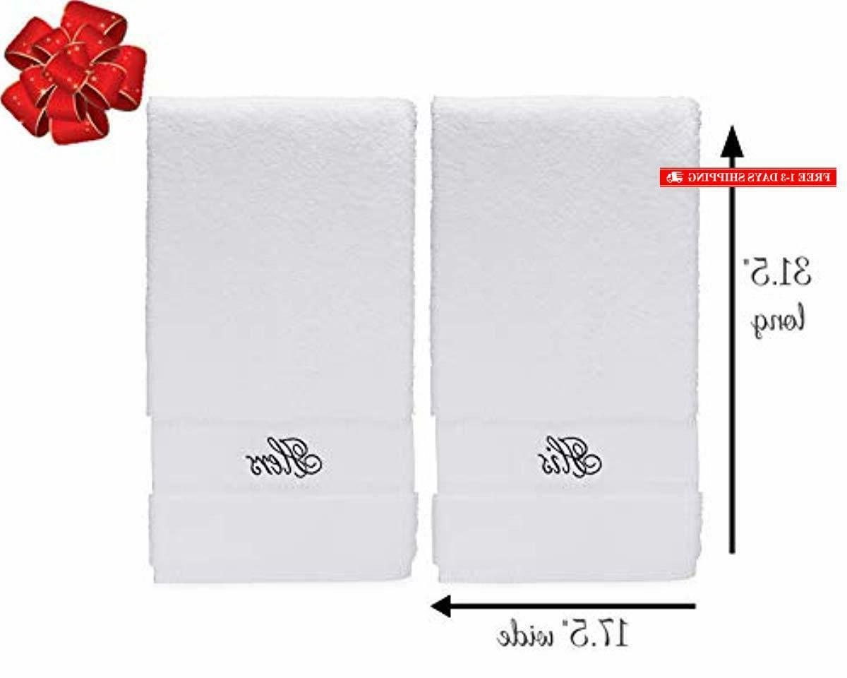 His Hers Towel Set - Couple Gift