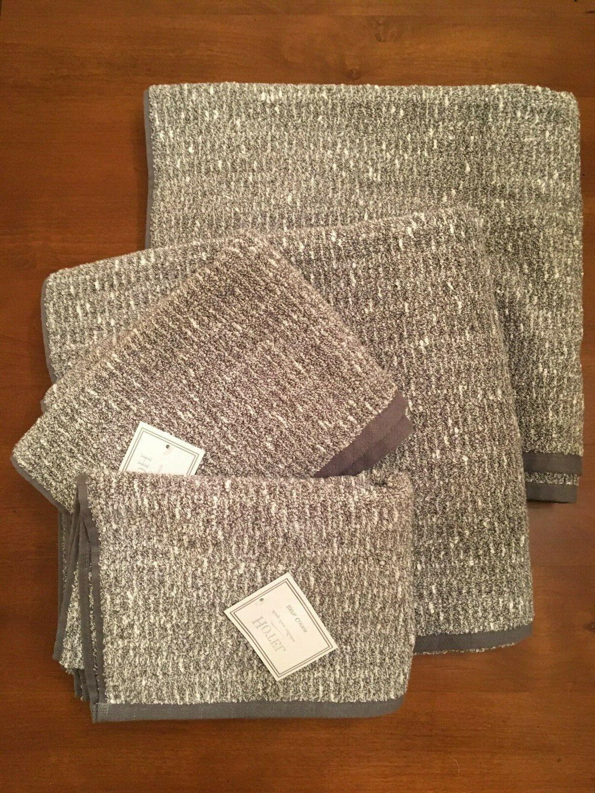 Hotel Luxury Linen Collection Towel Set Two Bath Two Hand Gr