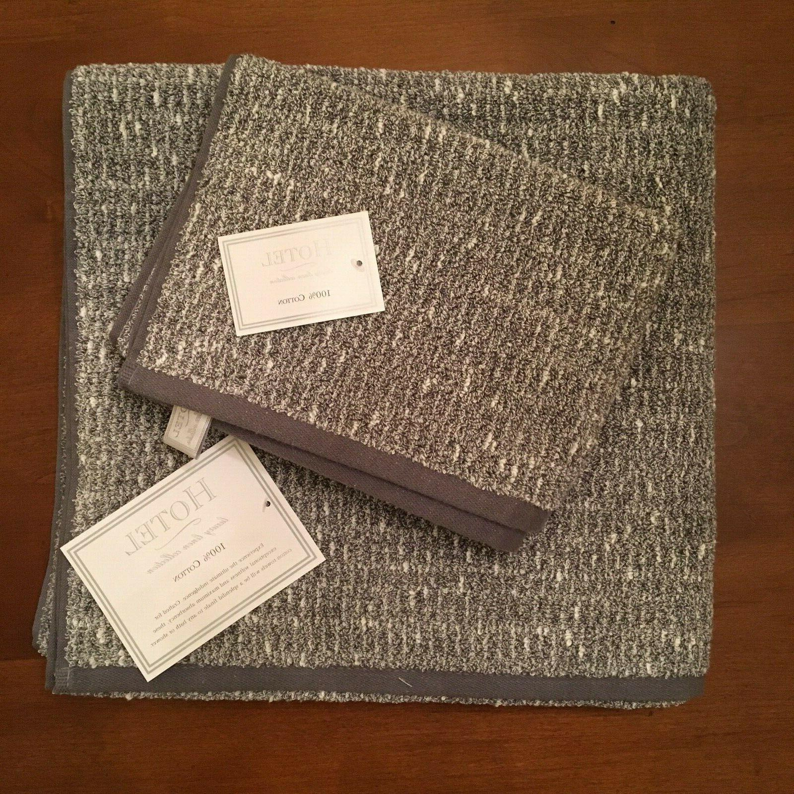 hotel luxury linen collection towel set two