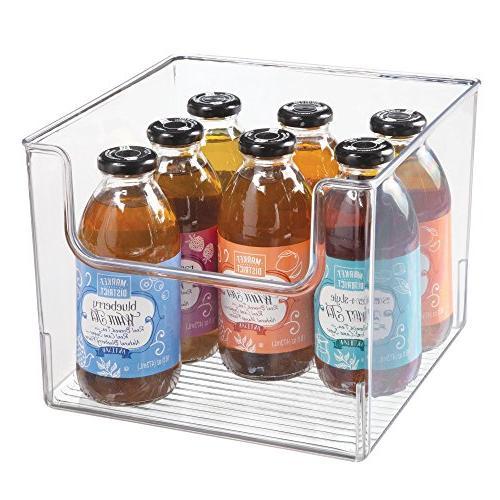household plastic cube storage bins