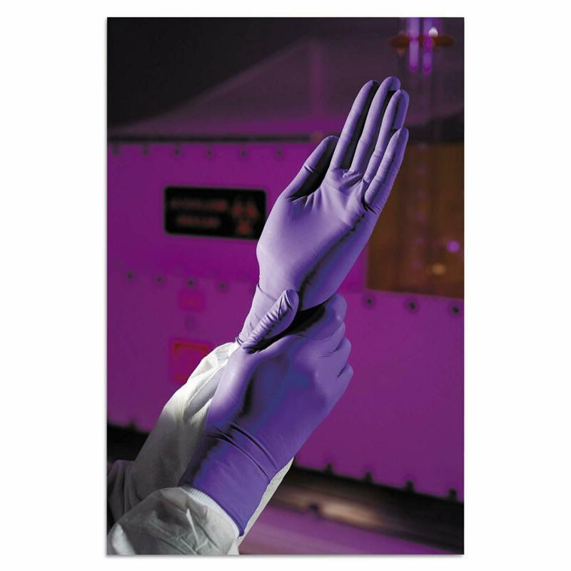 Kimberly-Clark Professional 55081 Purple Nitrile Exam Gloves, Mm Sma