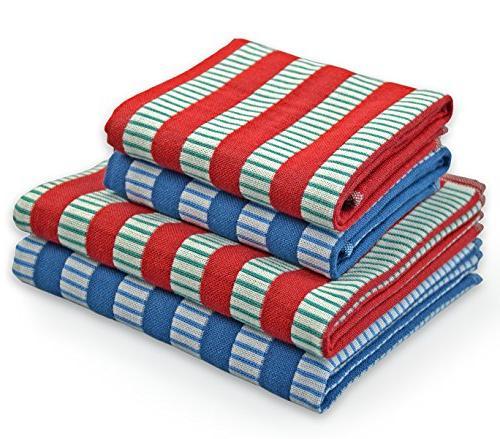 kitchen towels dish cloths set