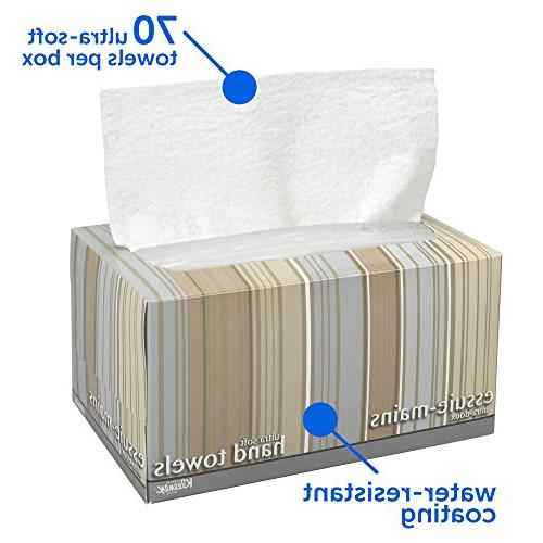 Kleenex , Ultra and Pop-Up Boxes / 70 Paper Hand 1,260 Sheets / Case