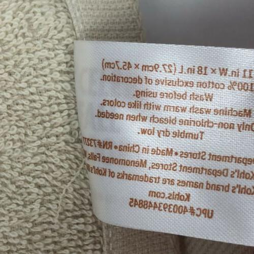Kohl's Bath Hand Towels Fingertip