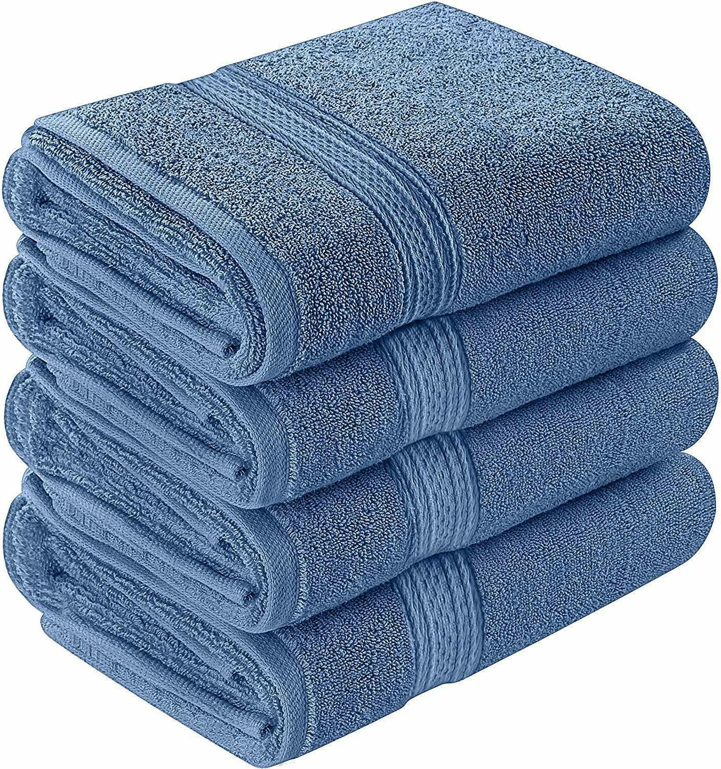 6 Premium Hand Towels Cotton 28 Inches Towels