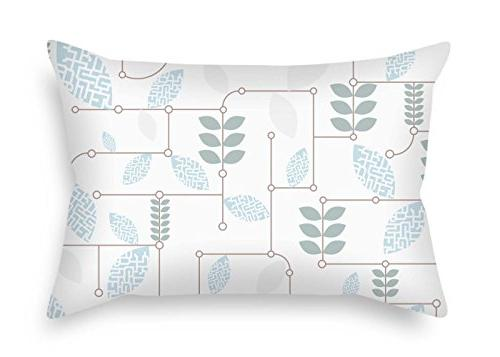 leaf throw pillow covers 45