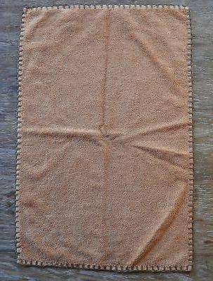 leather bound brown apache hand or guest