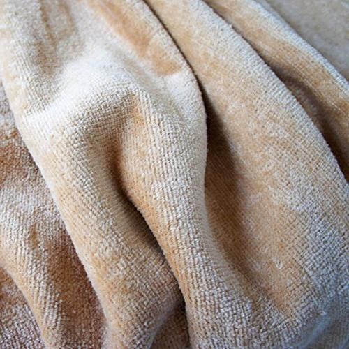 USTIDE Bath Towels Solid Cotton Soft and Towels