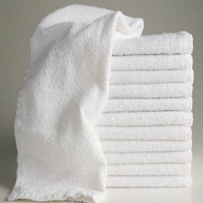 LOT 24 PACK HAND TOWELS 13X30 GYM SALON HOTEL