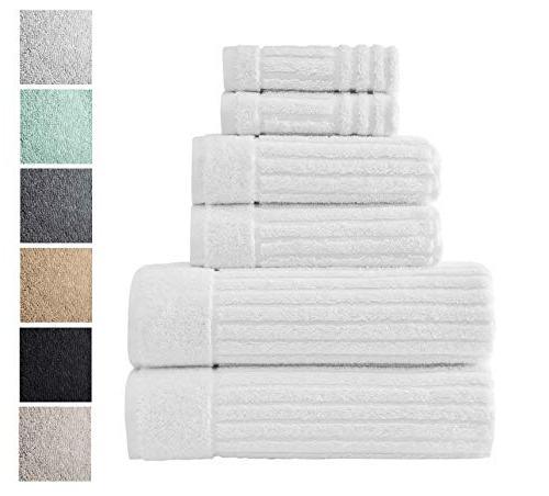 luxury bath towel collection set